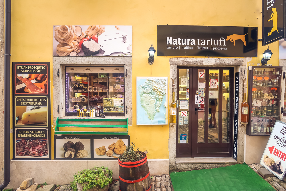 Croatia Motovun - Natura Tartufi Shop in Motovun Best Places to Visit in Istria