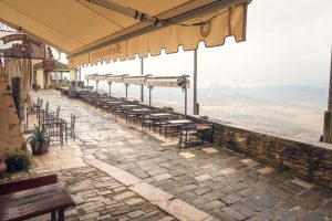 Best Places to Visit in Istria view from Motovun restaurant