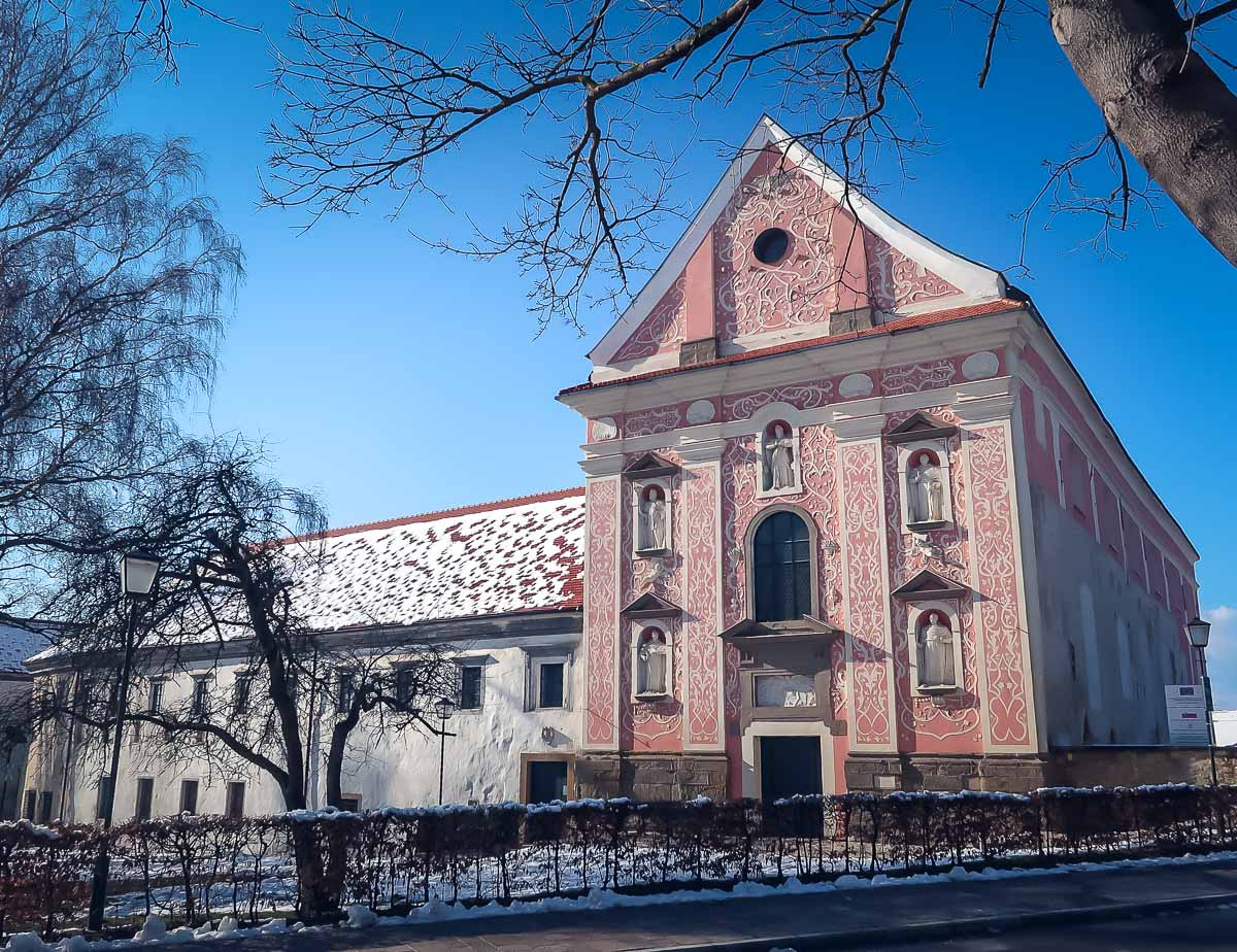 Slovenia in Winter - Dominican Monastery in Ptuj