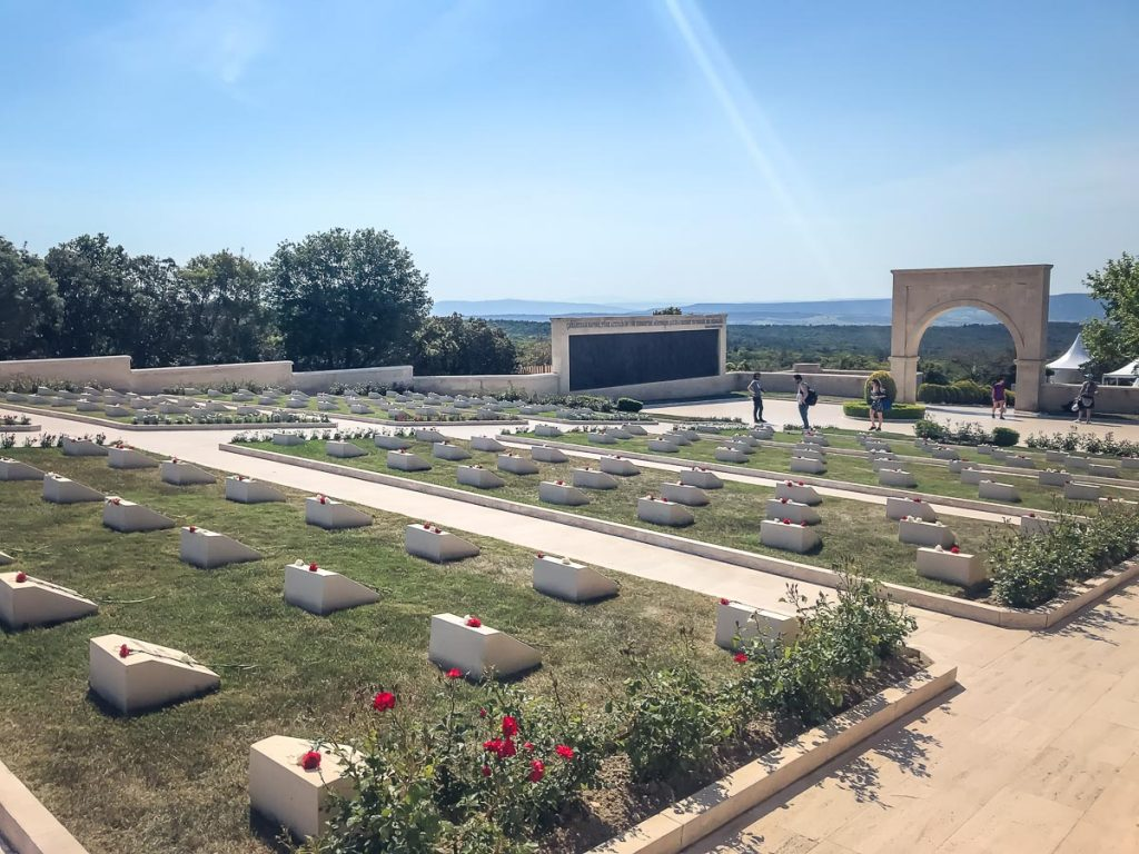 ANZAC Day at Gallipoli - Turkish memorial and cemetery
