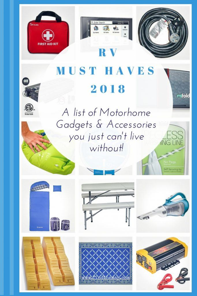 RV must haves for 2018