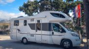 Motorhome pitch at Camping Stobrec Split