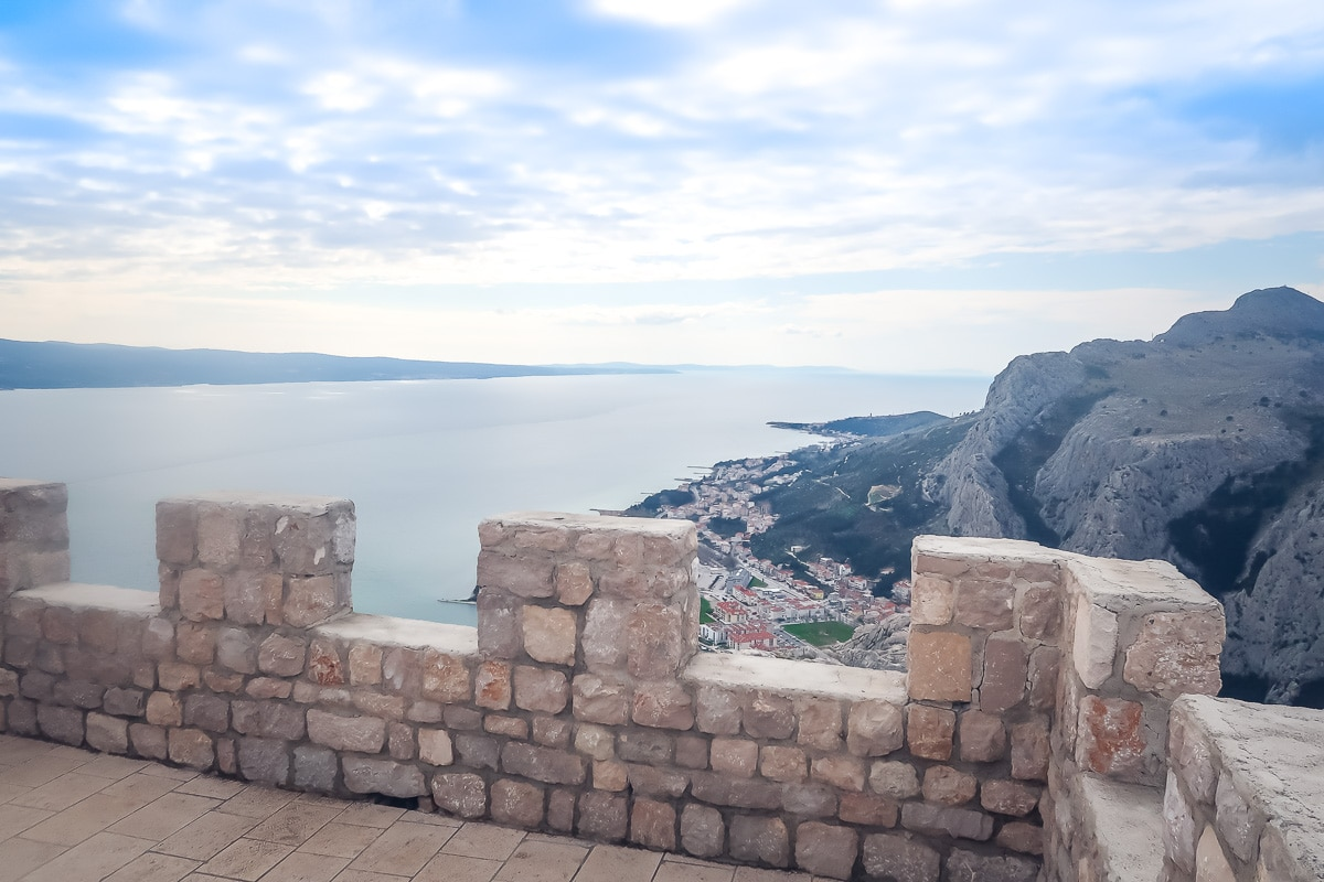 Omis is a short day trip from split
