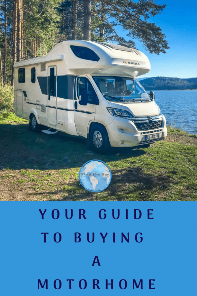Buying a motorhome for the first time