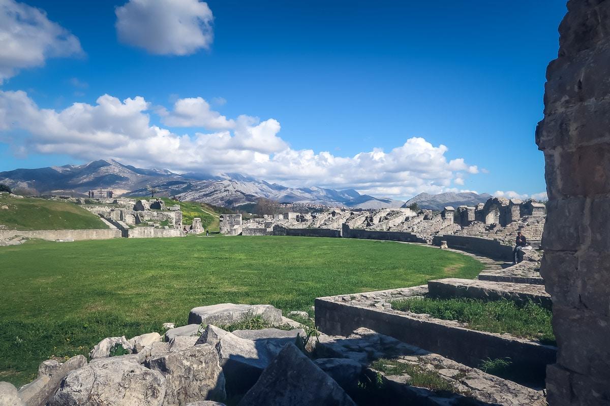 Day trip from Split Croatia to Solin