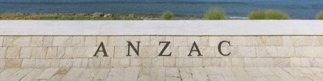 ANZAC Day at Gallipoli - ANZAC Cove memorial