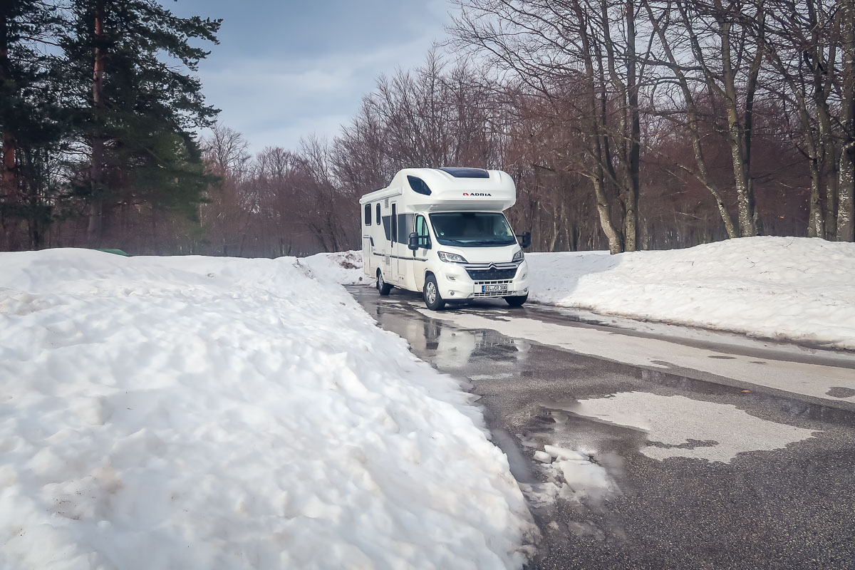 Full time RV Living in Winter