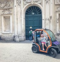 Scooter Rental Rome Italy on a Buzz