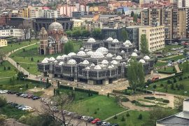 Travelling in Kosovo - Is it safe? The Kosovo library represents the changing times and makes travelling in Kosovo a must.