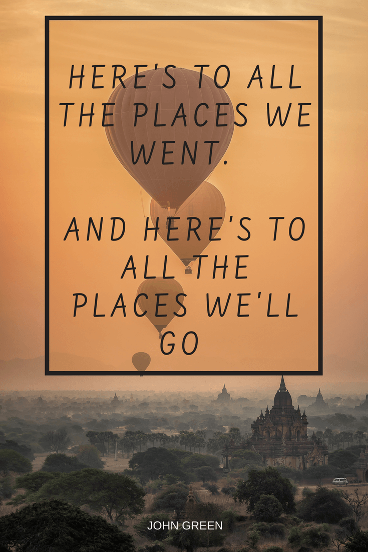 Places you will go Quote