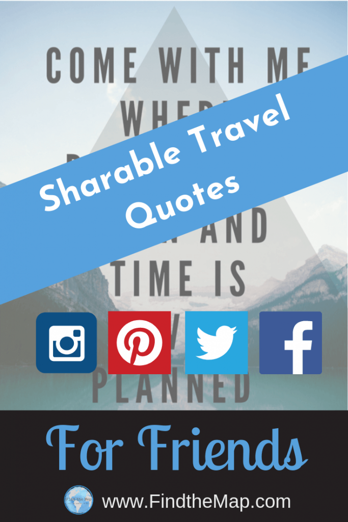 Friend Travel Quotes