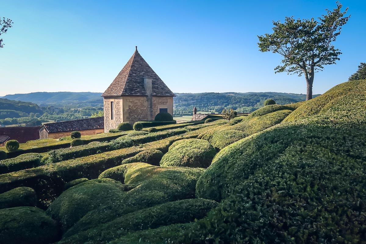 Gardens in Dordogne