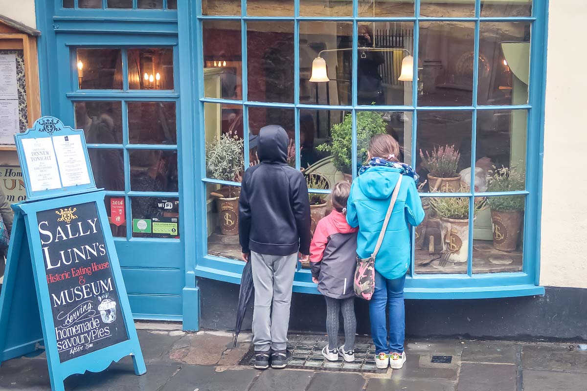 Sally Lunns tea rooms on a day trip to Bath