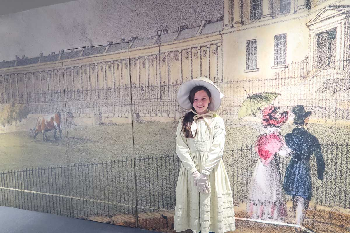 Period Costume Dress Ups at the Fashion Museum Bath