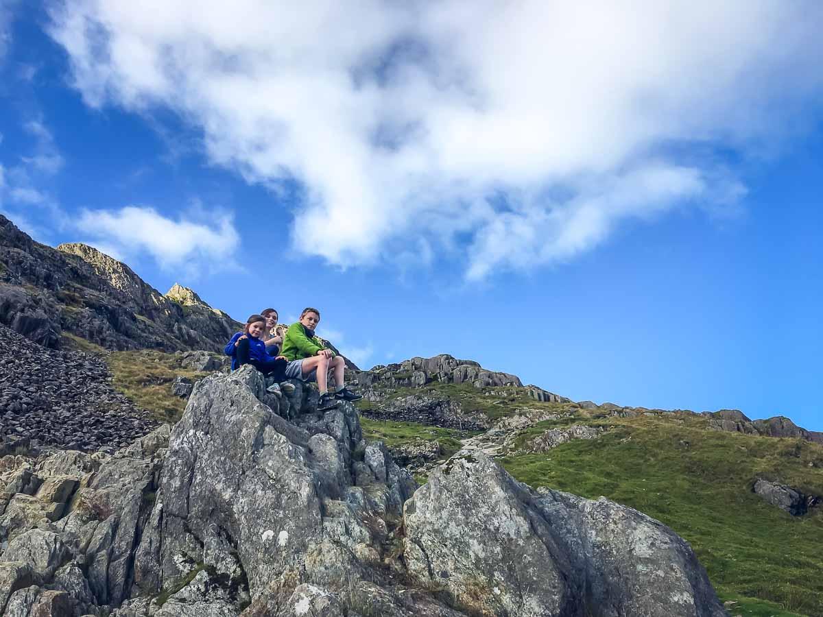 Climbing Snowdon with Kids