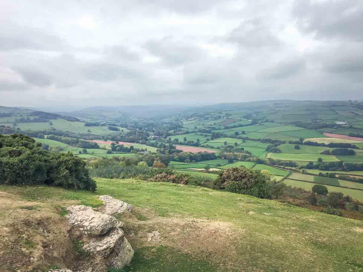Twyn y Gaer view