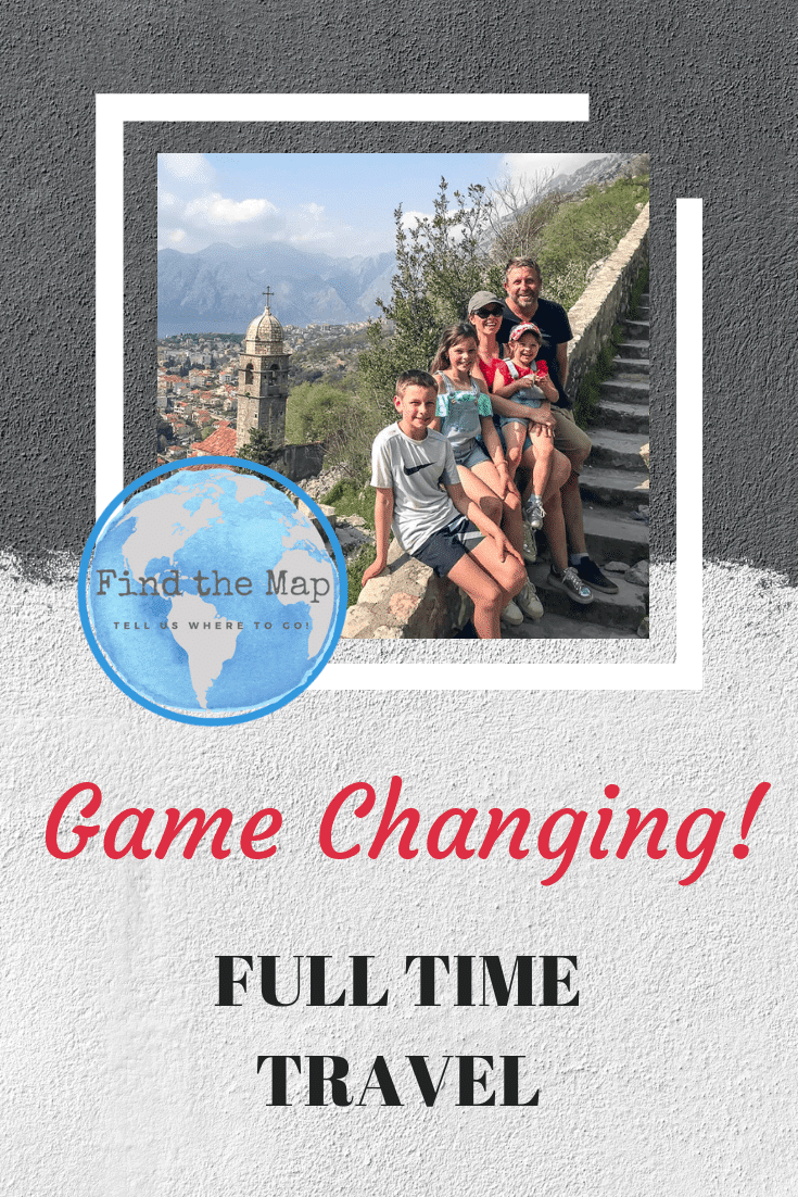 Do you ever wish you could get out of the daily grind, that 9-5 routine?  Find out how and why we choose to live life differently pursuing full time travel. #findthemapandgo
