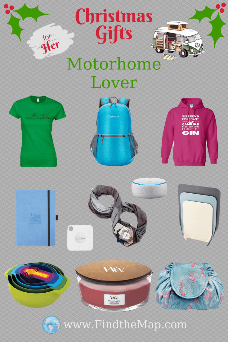 FOR HER | Do you need to find that perfect gift for a Motorhome Lover?  Perfect Gifts for Motorhome Enthusiasts | Motorhome Accessories #Van