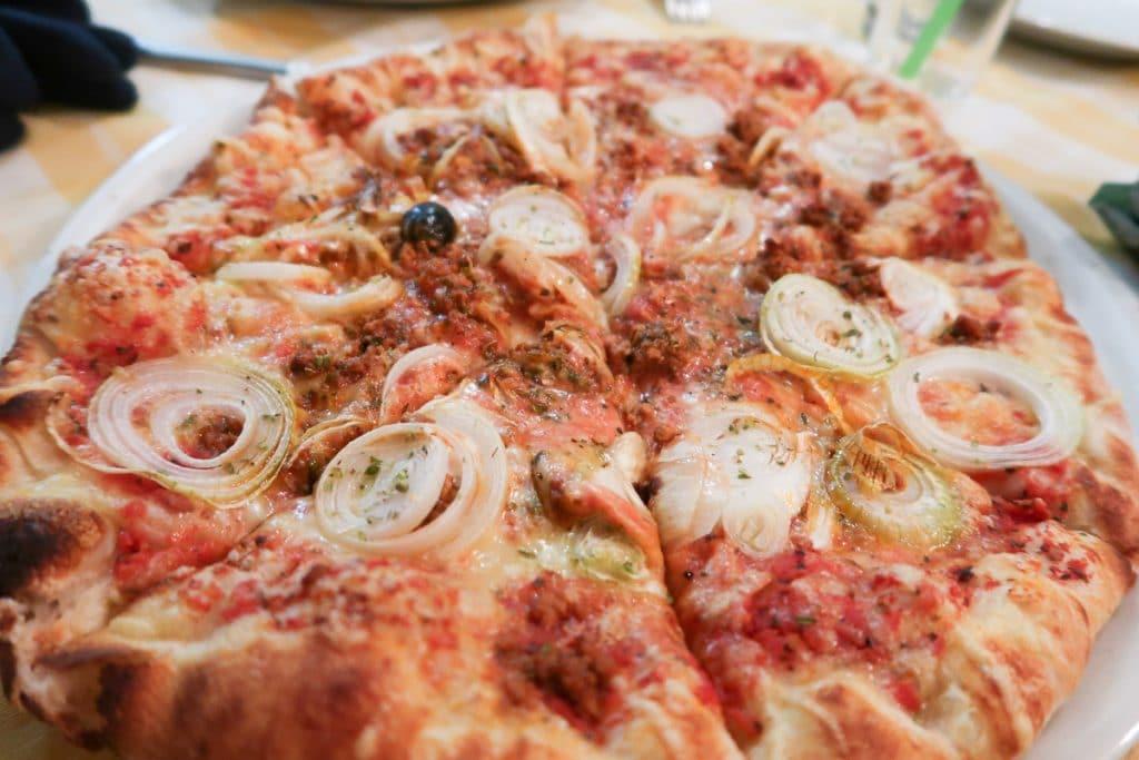 Pizza in Ljubljana