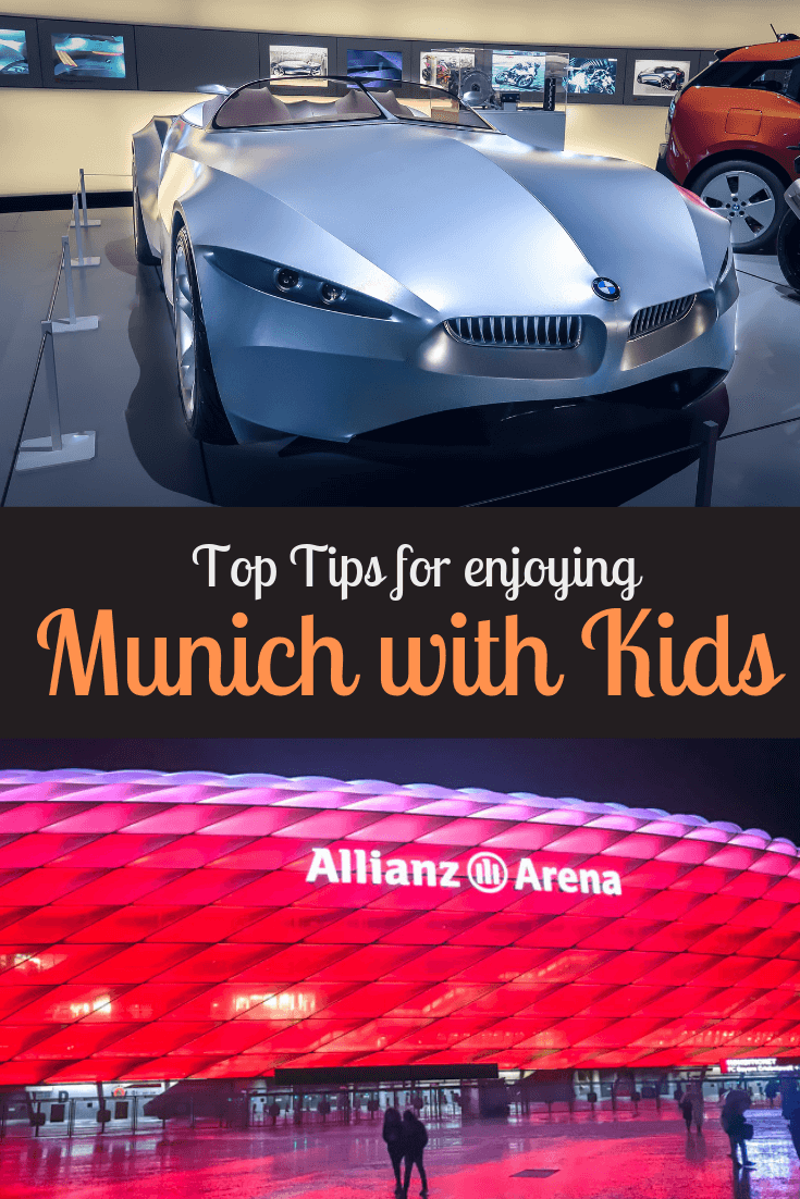 Planning a trip to Munich, Germany? Find out what the top ideas for places to go in Munich with kids are.  Then get started on your own adventure. #Munich #FamilyTravel #Munichwithkids #FindtheMapandGo