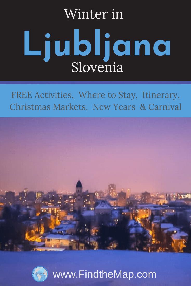 Experience Ljubljana in Winter